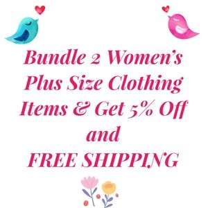 Other - BUNDLE DEAL on PLUS SIZE CLOTHING